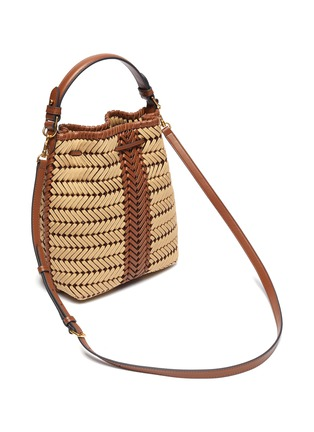 Detail View - Click To Enlarge - ANYA HINDMARCH - 'Neeson' drawstring small leather bag