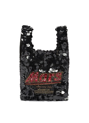 Main View - Click To Enlarge - ANYA HINDMARCH - 'Mars Bar' Sequin Mini Tote