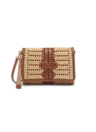 Main View - Click To Enlarge - ANYA HINDMARCH - Neeson' leather crossbody bag