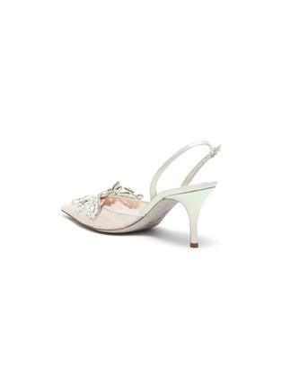 - RENÉ CAOVILLA - 'Veneziana' embellished lace slingback pumps