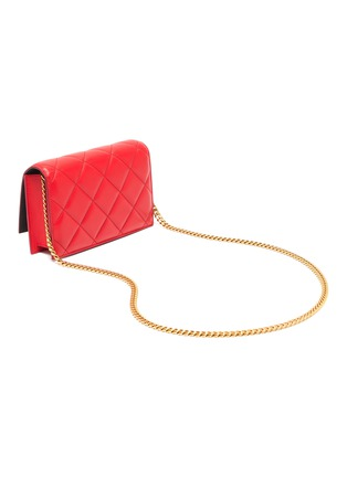 Detail View - Click To Enlarge - ALEXANDER MCQUEEN - Quilted leather small crossbody bag