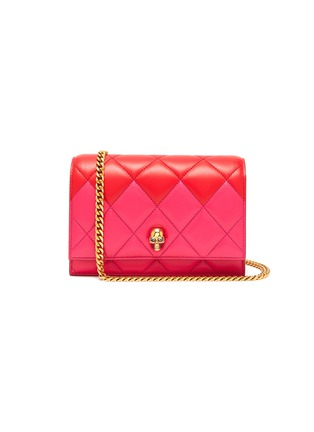 Main View - Click To Enlarge - ALEXANDER MCQUEEN - Quilted leather small crossbody bag