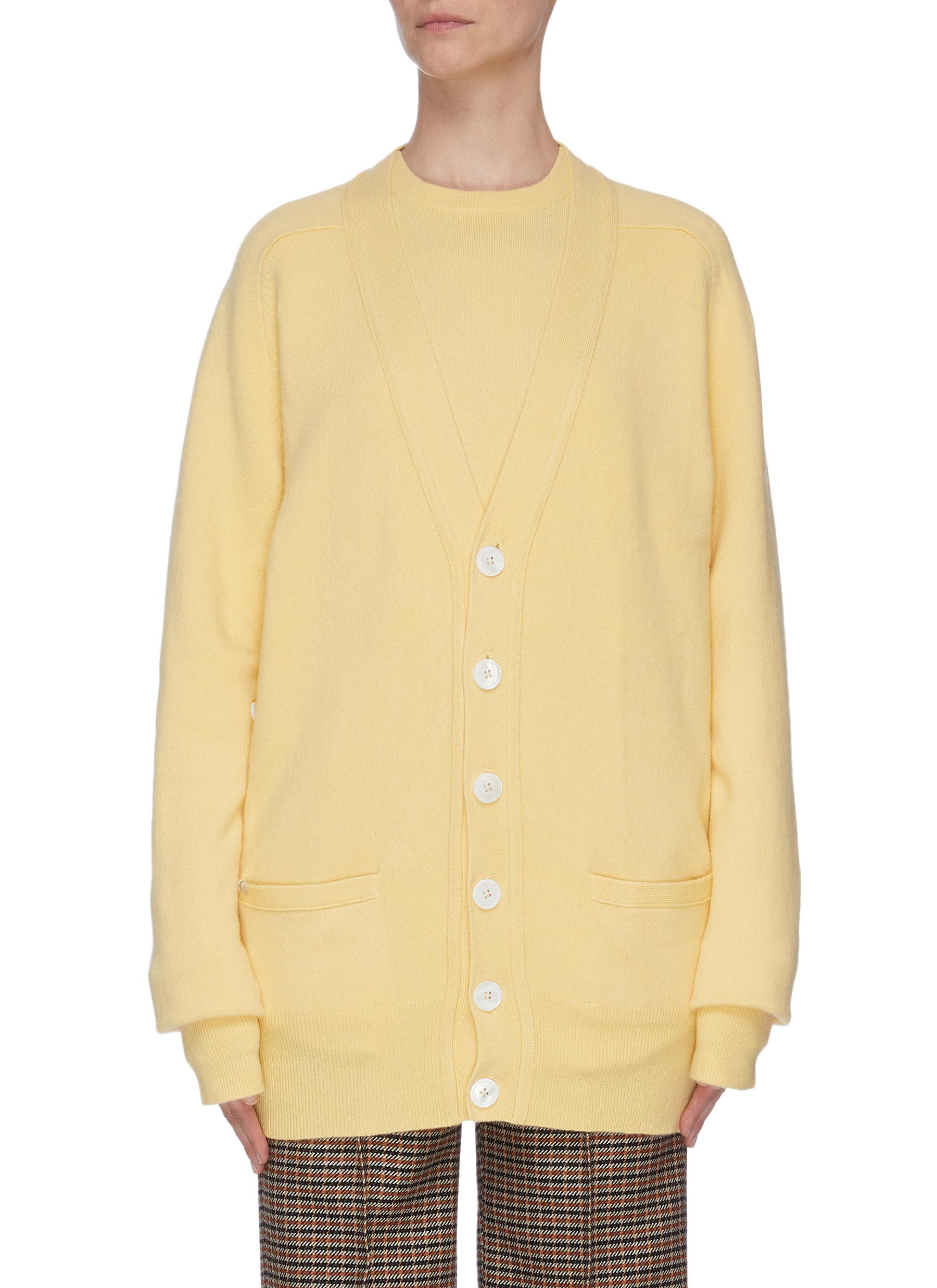 shop Extreme Cashmere Cashmere blend cardigan online