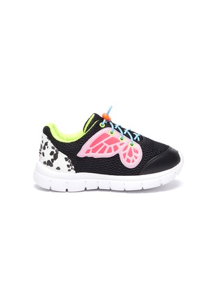 Main View - Click To Enlarge - SOPHIA WEBSTER - 'Chiara' butterfly wings perforated toddlers and kids sneakers