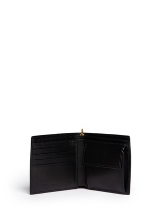 Figure View - Click To Enlarge - ALEXANDER MCQUEEN - Spinal cord chain bi-fold wallet
