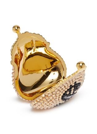 Detail View - Click To Enlarge - JUDITH LEIBER - 'French Purse Dollar' crystal pavé purse