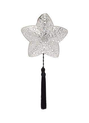 Main View - Click To Enlarge - JUDITH LEIBER - 'Star Polaris' crystal pavé tassel clutch