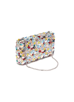 Detail View - Click To Enlarge - JUDITH LEIBER - 'Eclipse' crystal pavé rectangle clutch