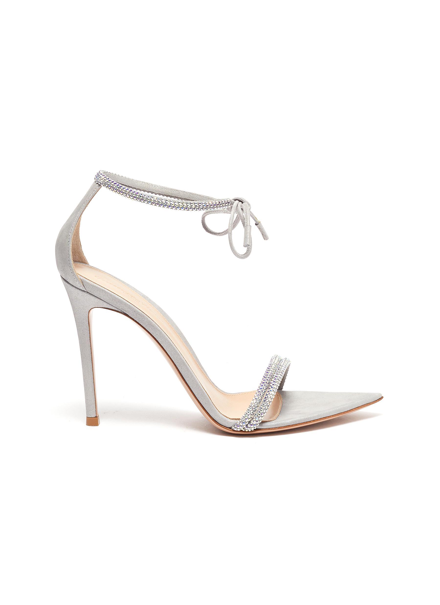 Gianvito Rossi High Heels Crystal embellished strap sandals