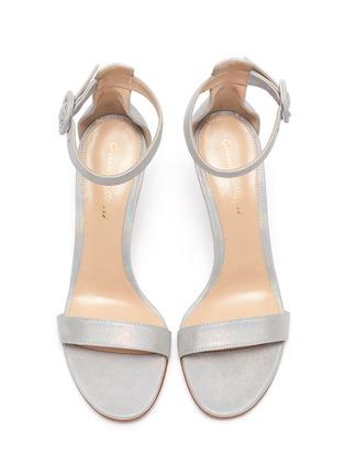 Detail View - Click To Enlarge - GIANVITO ROSSI - 'Portofino 85' ankle strap sandals