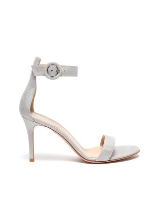 Main View - Click To Enlarge - GIANVITO ROSSI - 'Portofino 85' ankle strap sandals
