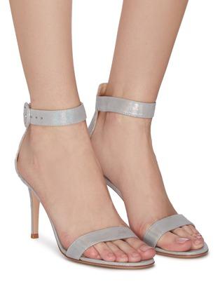 Figure View - Click To Enlarge - GIANVITO ROSSI - 'Portofino 85' ankle strap sandals