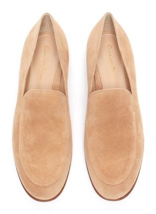 Detail View - Click To Enlarge - GIANVITO ROSSI - Marcel' suede loafers