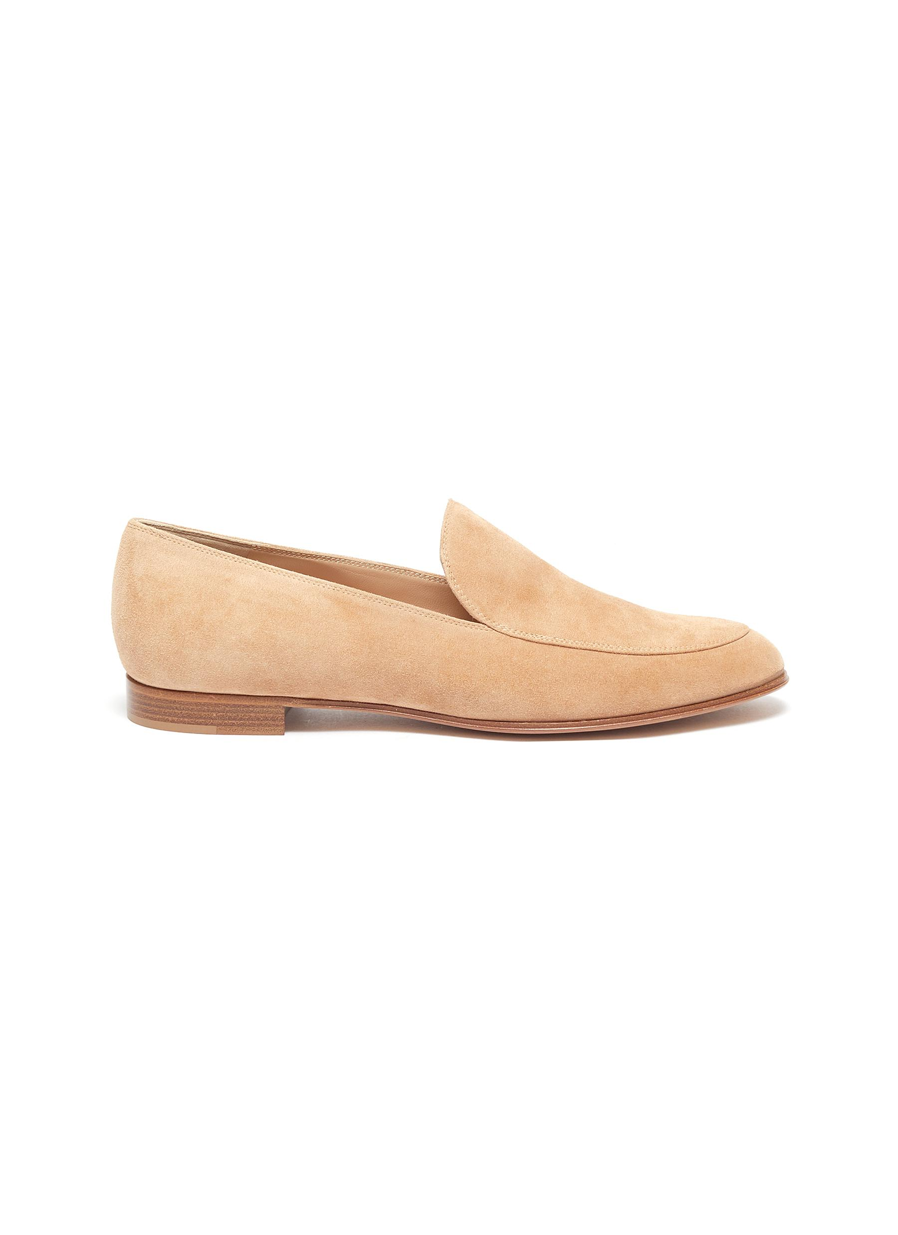 Gianvito Rossi Flats Marcel suede loafers