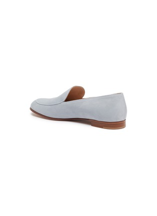 - GIANVITO ROSSI - Suede leather loafers