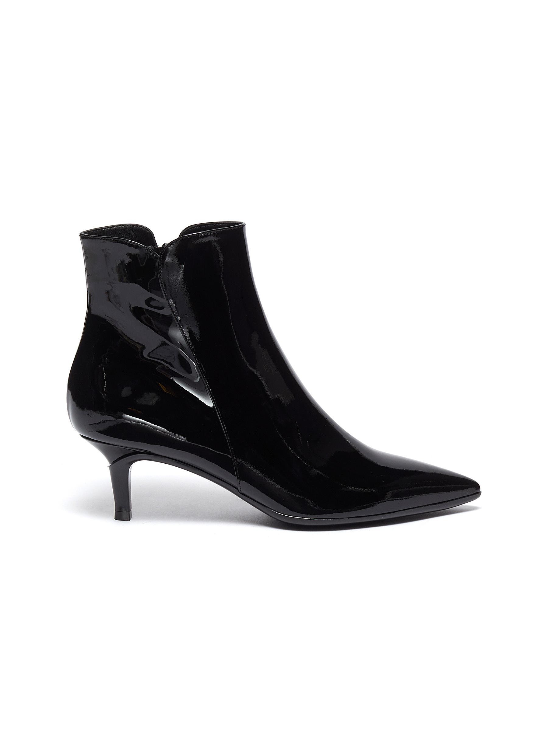 Gianvito Rossi Boots Patent leather ankle boots
