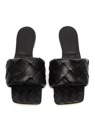 Detail View - Click To Enlarge - BOTTEGA VENETA - Woven leather slides