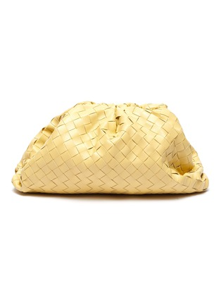 Main View - Click To Enlarge - BOTTEGA VENETA - 'The Pouch' woven leather clutch