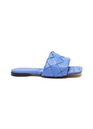 Main View - Click To Enlarge - BOTTEGA VENETA - Woven leather slides