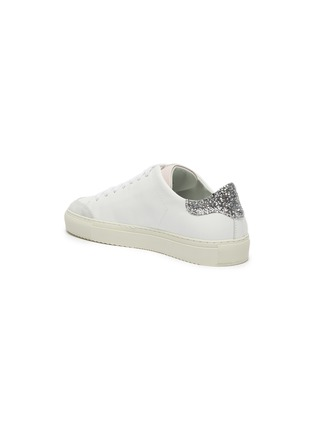 - AXEL ARIGATO - 'Clean 90' glitter tab contrast tongue leather sneakers