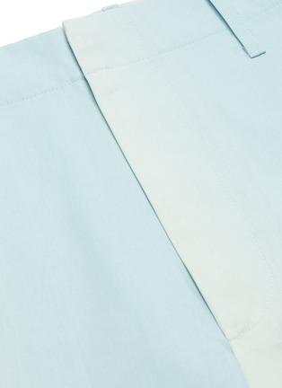 - AURALEE - Gradient dyed shorts