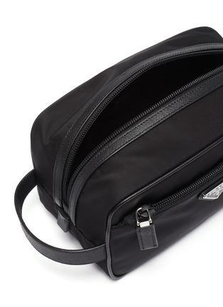 Detail View - Click To Enlarge - PRADA - 'Tessuto' nylon washbag
