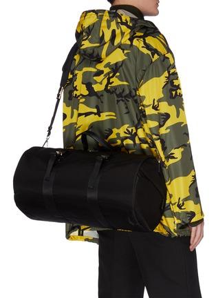 Front View - Click To Enlarge - PRADA - 'Tessuto' nylon gymbag