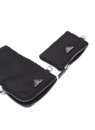 Detail View - Click To Enlarge - PRADA - 'Tessuto' tech pouch