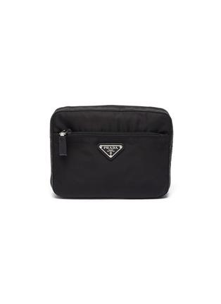 Main View - Click To Enlarge - PRADA - 'Tessuto' nylon pouch