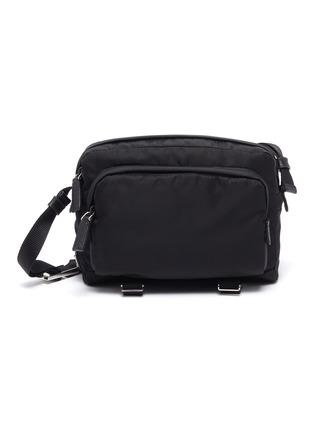 Main View - Click To Enlarge - PRADA - 'Tessuto' clip nylon camera bag