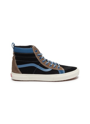 Main View - Click To Enlarge - VANS - 'SK8-Hi MTE LX' colourblock suede high top sneakers