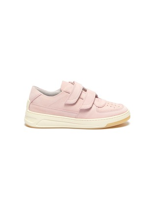 Main View - Click To Enlarge - ACNE STUDIOS - Double velcro panel outsole kids leather sneakers