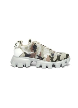 Main View - Click To Enlarge - PRADA - 'Cloudbust Thunder' camo sneakers