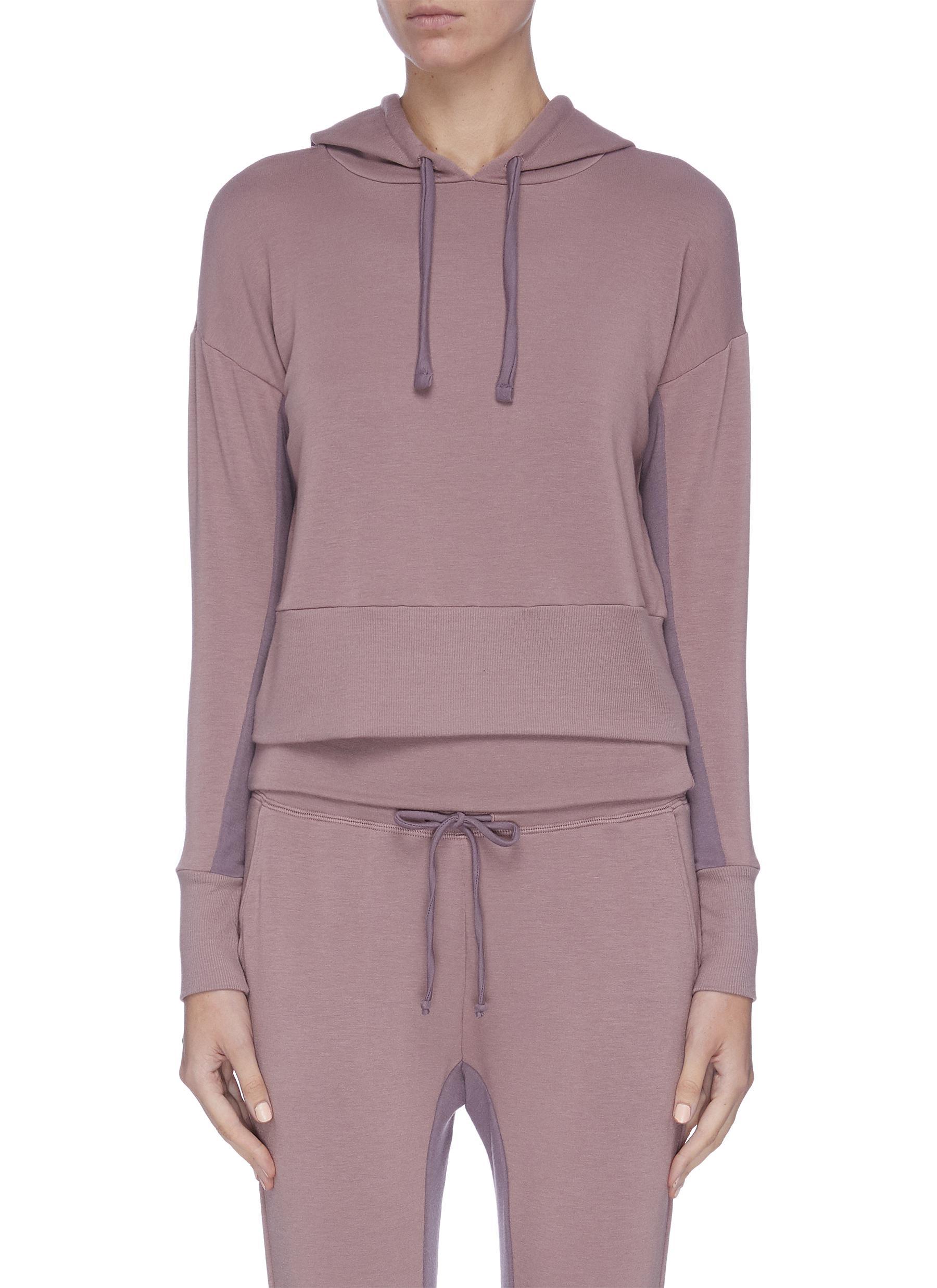 shop Beyond Yoga Contrast inseam hoodie online