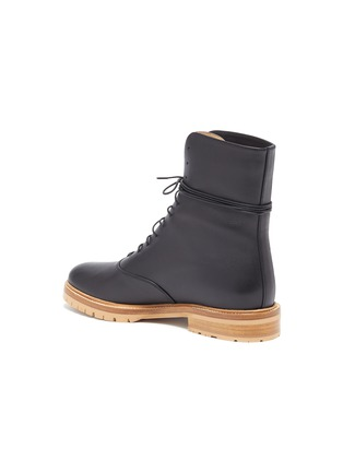 - GABRIELA HEARST - 'Ruben' lace-up leather combat boots