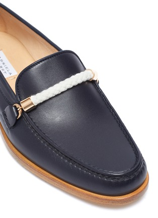 Detail View - Click To Enlarge - GABRIELA HEARST - Renault' rope detail leather loafers