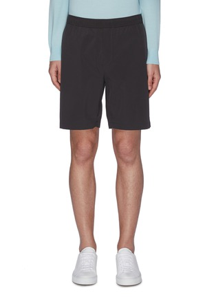Main View - Click To Enlarge - THEORY - 'Graham' Paper Nylon Shorts