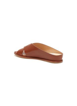- GABRIELA HEARST - Ellington cross strap leather flats