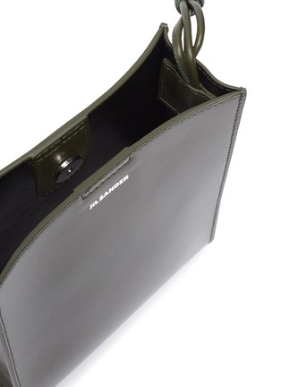 Detail View - Click To Enlarge - JIL SANDER - 'Tangle' small leather box bag