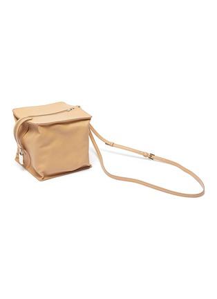 Detail View - Click To Enlarge - JIL SANDER - 'Block' small leather shoulder bag