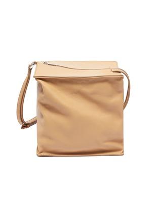 Main View - Click To Enlarge - JIL SANDER - 'Block' small leather shoulder bag