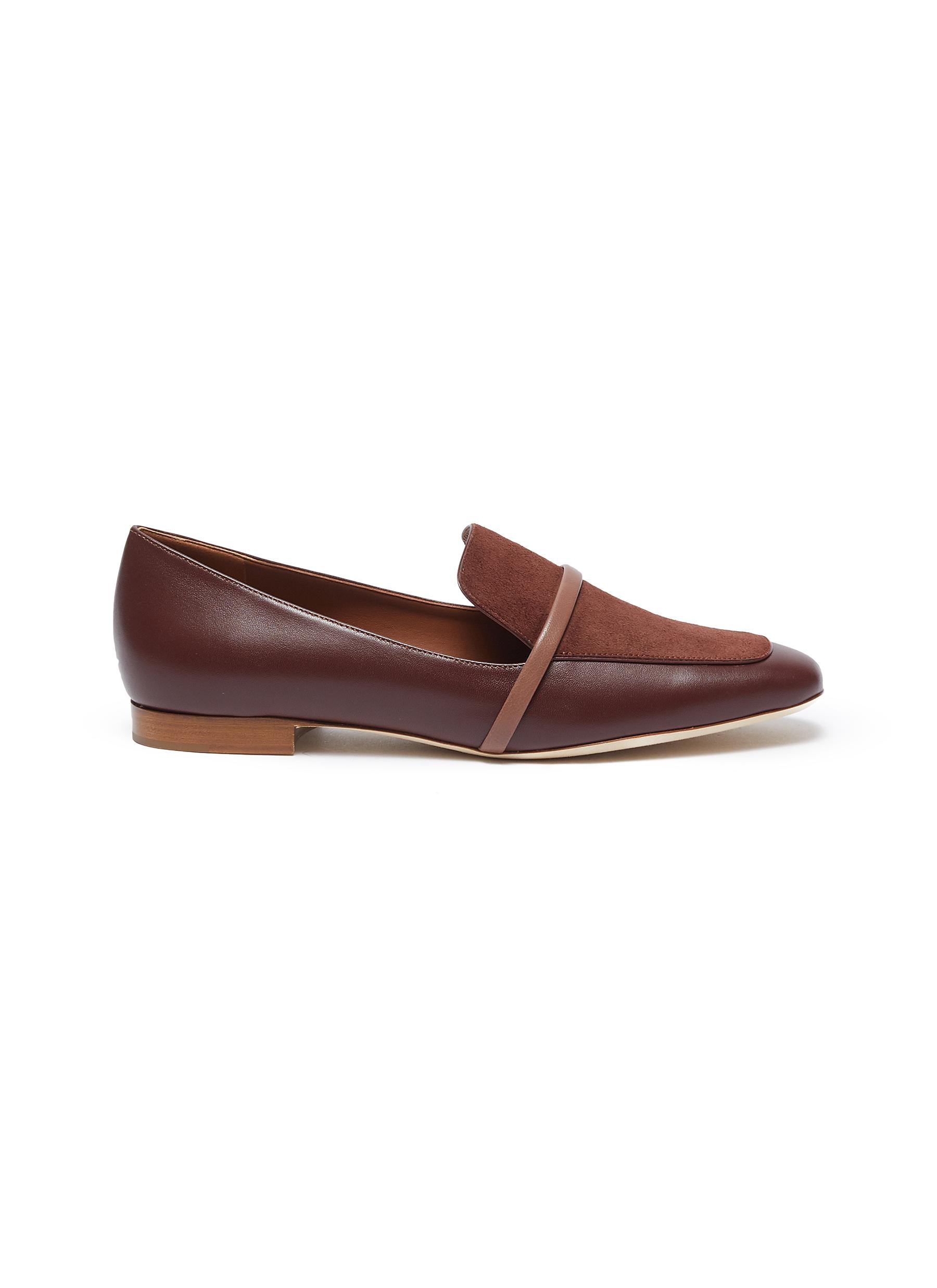 Malone Souliers Flats Jane nappa leather loafers