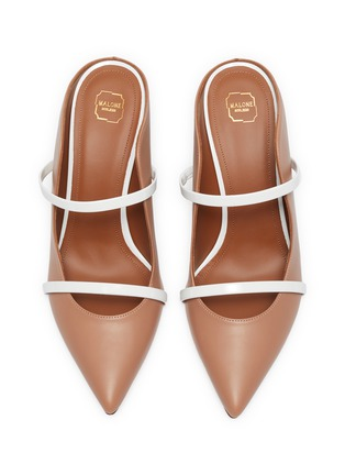 Detail View - Click To Enlarge - MALONE SOULIERS - 'Maureen' strappy nappa leather mules