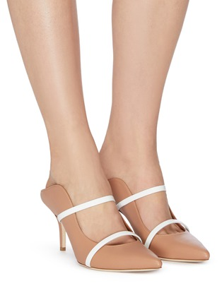 Figure View - Click To Enlarge - MALONE SOULIERS - 'Maureen' strappy nappa leather mules