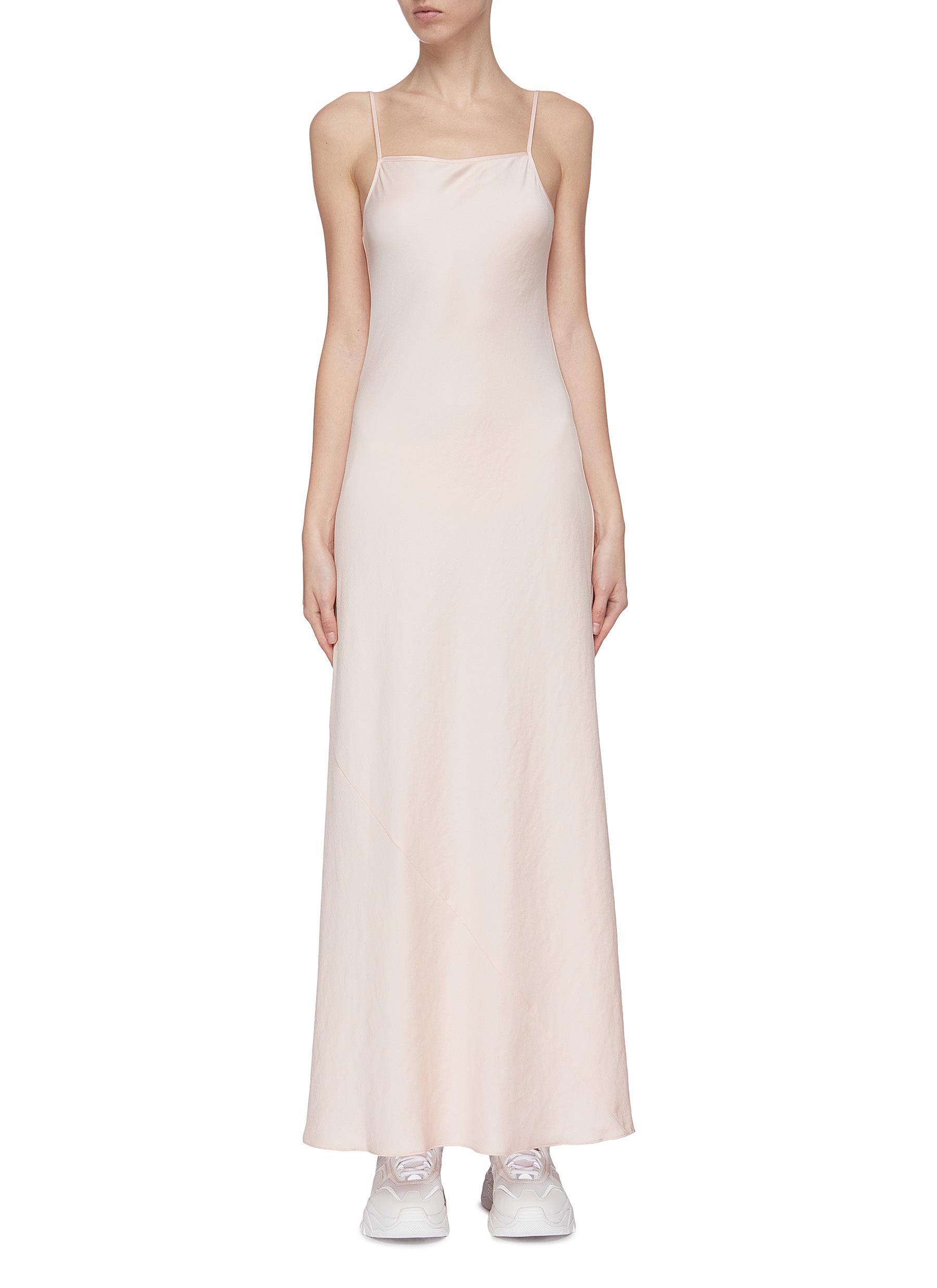 shop Alexanderwang.T 'Light Wash + Go' maxi dress online