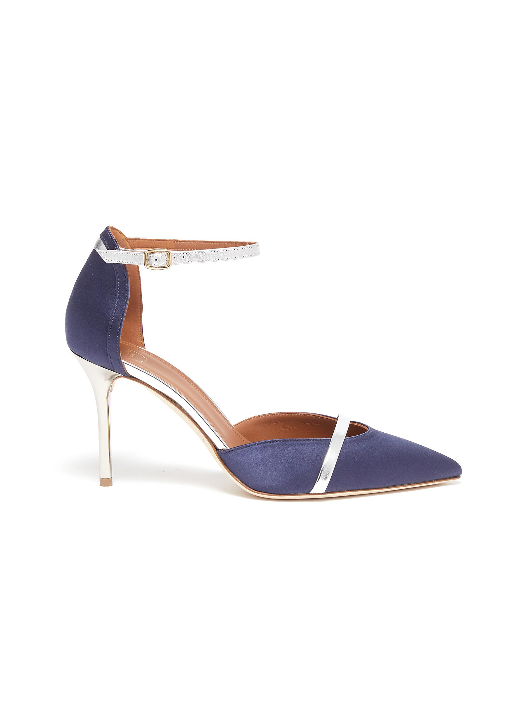 Malone Souliers High Heels Booboo ankle strap pumps