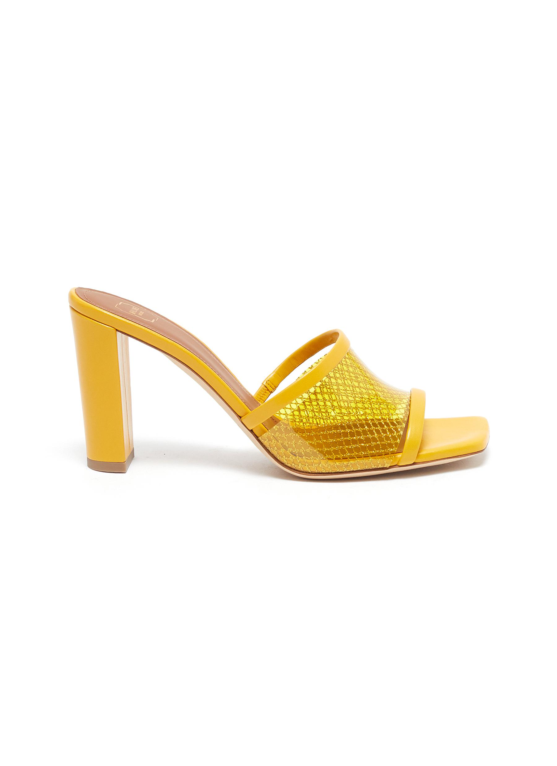 Malone Souliers High Heels Demi 85mm mesh leather sandals