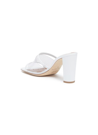 - MALONE SOULIERS - 'Demi 85mm' mesh leather sandals