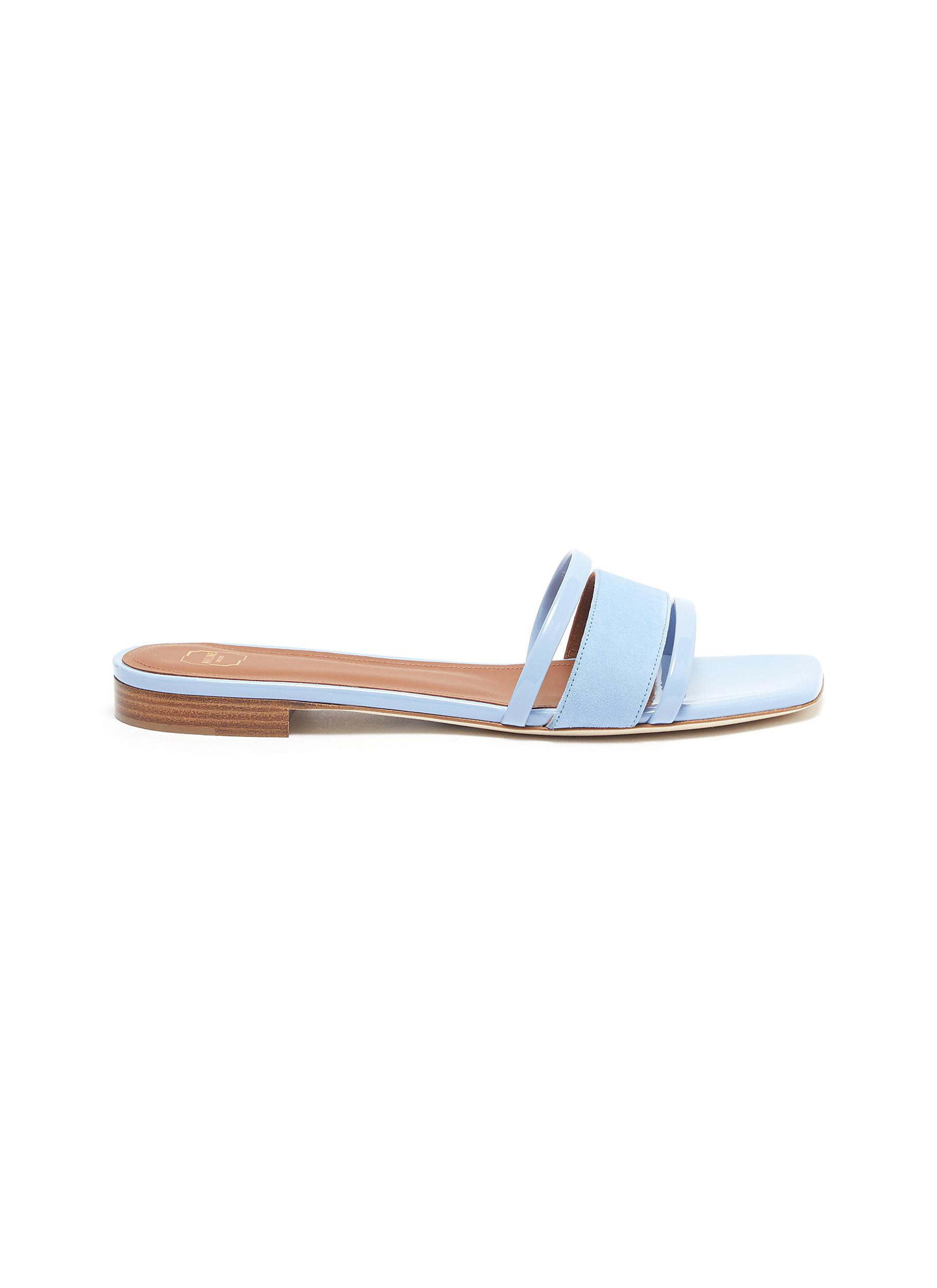 Malone Souliers Flats Demi leather sandals