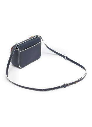 Detail View - Click To Enlarge - JW ANDERSON - 'Nano Keyts' leather crossbody bag